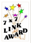 7x7 blog award